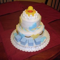 Baby Shower A cake I did for the office for one of the girls that is pregnant. TFL