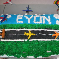 5Th Birthday Airplane Cake This is for my nephew's 5th birthday.