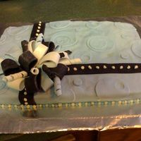 Birthday Cake   Fondant covering and accessories