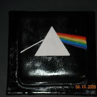 Pink Floyd 3 layer vanilla with strawberry filling..........I was really looking forward to having some of this cake, but I made it for my cousin for...