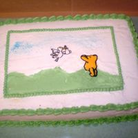 Classic Pooh made for an adoption baby shower