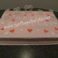 Pink Heart Feb Birthday   all bc and bc boarder with RI hearts and lettering