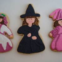 Madiens Of Magic Hand cut designs of sugar cookies with royal icing