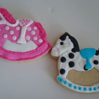 Hobby Horses sugar cookies with royal icing