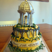 Rivendell - Lord Of The Rings My DH and my sister made this cake for me for my birthday. I am a huge LOTR fan and they knew I would love this. My DH did all of the...