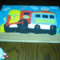 Train Birthday Cake
