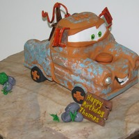 "Mater Tow-Mater from ""Cars"""