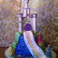 Fairytale Dreams all edible minus dolls and dowels
