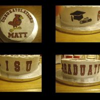 Isu Made this for a Co-Worker's Son who graduated from Illinois State University. All decals made from Color Flow.