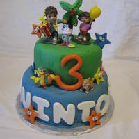 Dora And Diego Birthday Cake Dora and Diego Birthday Cake!