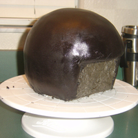 Helmet Cake Disaster Need help figuring out what I did wrong