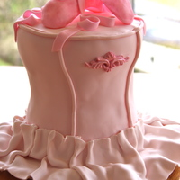 Camryn's Ballet Cake I wanted to do a ballet cake for my daughter's 9th birthday. I loved Margery's ballerina cake, so I tried to make it somewhat...