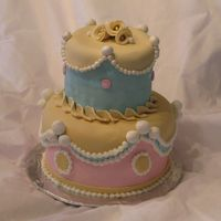Victorian Cake This was my take on a Victorian Cake. I was hoping the colors along with the design would mix together to give it a more eclectic Victorian...