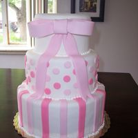 Pretty In Pink All fondant.