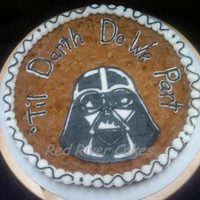 Darth Do We Part!   Groom's cookie cake!