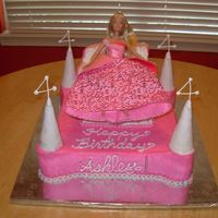 Birthday Barbie Cake