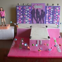 Catwalk Birthday Cake