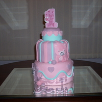 1St Birthday Cake I made this for my daughter who loves pets!