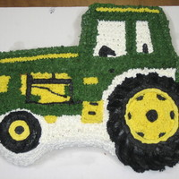 Tractor Cake Tractor cake made for my fathers birthday.
