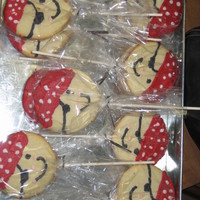 Pirate Cookies My sons school mascot is pirates. I made these for his class party on the last day of school.