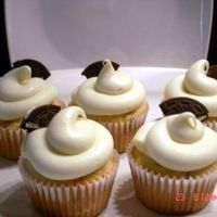 Cookies & Cream Cupcake Cookies and cream cupcake with cream cheese frosting