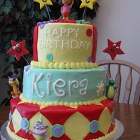 Dora Cake  Took this idea off of many cakes on this website, but I am not sure of the names..but thank you for the beautiful cake ideas..this is one...