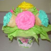 Mother's Day Cupcake Bouquet I am creating these Mother's Day Cupcake Bouquets for delivery this Friday and Saturday.