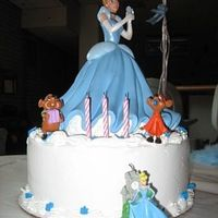 Cinderella Ice Cream Cake We were in the process of moving back from Germany around my daughter's 3rd b-day & living in a hotel. I had no means to bake a...