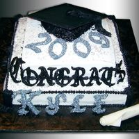 2009 High School Graduation This was done for a friend's son whom I've known since he was 8. This took me forever... especially the cap. The family loved it...