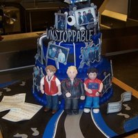Rascal Flatts I was honored to do this cake for Rascal Flatts to celebrate their 10 years of success when they were here in KC in Feb. It went into their...