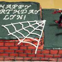 Spiderman Cake inspired by a few cakes on here