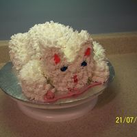 Kitten With Ball Of Yarn A suprise cake for my kids