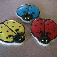 Ladybug Cookies   NFSC with antonia74 icing