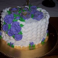 Flower Basket Butter creme flowers
