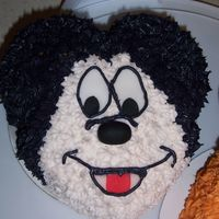 Mickey butter cream mickey mouse