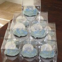 "Baby Shower Cupcake ""it's A Boy"""