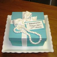 Tiffany Birthday Cake Box