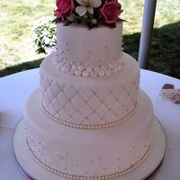 Bubble Border Cake