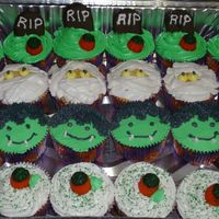 Halloween Cupcakes All BC Halloween cupcakes for work. Got all these ideas from various people on CC. Thanks guys!!!