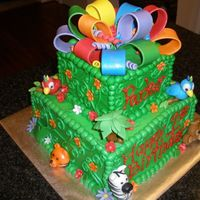 Jungle Cake side view.