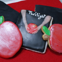 Twilight Cookies   soft sugar cookies and RI...all hand painted
