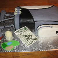 Golf Bag 60Th Cake
