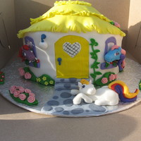 My Little Pony Cake Debbie Brown's design.