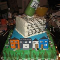 Newspaper Anniversary  Our local newspaper held a cake decorating competiton for their 50th anniversary. I won 1st place for the Tiered Cakes category!! The...