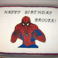 Spiderman This was my first FBCT that worked. I LOVE IT. I keep thinking what can I do next. Much eaiser than stars.