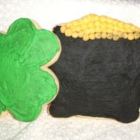 St. Patty's Day Cookies Playing around with different Cookies