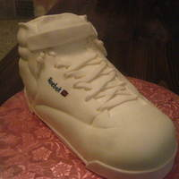 Old School Reebok classic done for a friend. All Fondant.