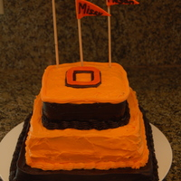 Oregon State University   Good-bye cake for my daughters and a friend.