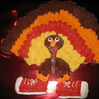 "Seymour The Turkey   Thanks to zatsdeb for the inspiration. I had so much fun making this. I named him ""Seymour."""