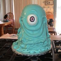Monsters Vs. Aliens B.o.b. Cake B-day cake for my daughter's tenth birthday. Party was held at Chunky's Cinema with a Monsters Vs. Aliens movie theme. Cake...